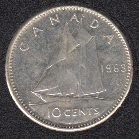 1963 - Canada 10 Cents