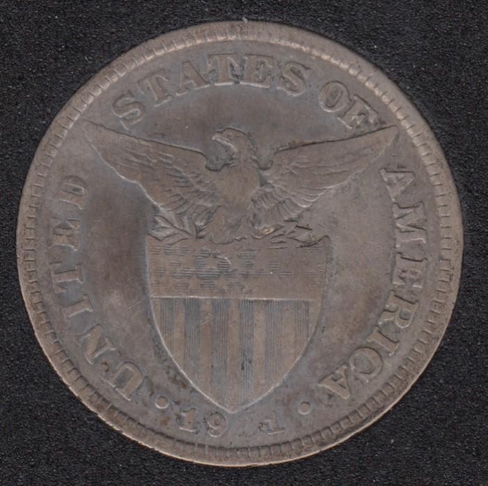 1921 - 50 Centavos - Philippines