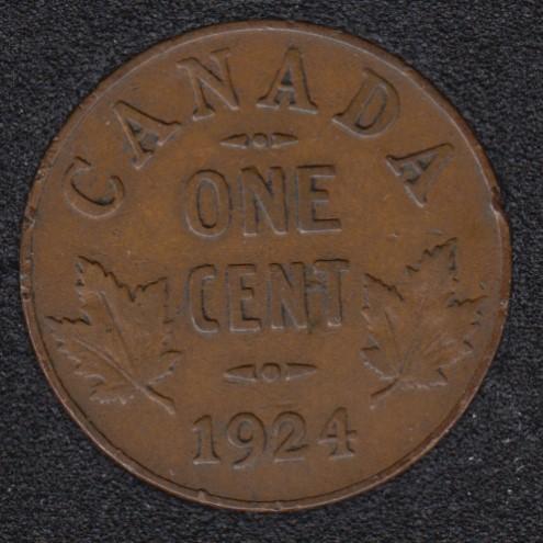 1924 - Canada Cent