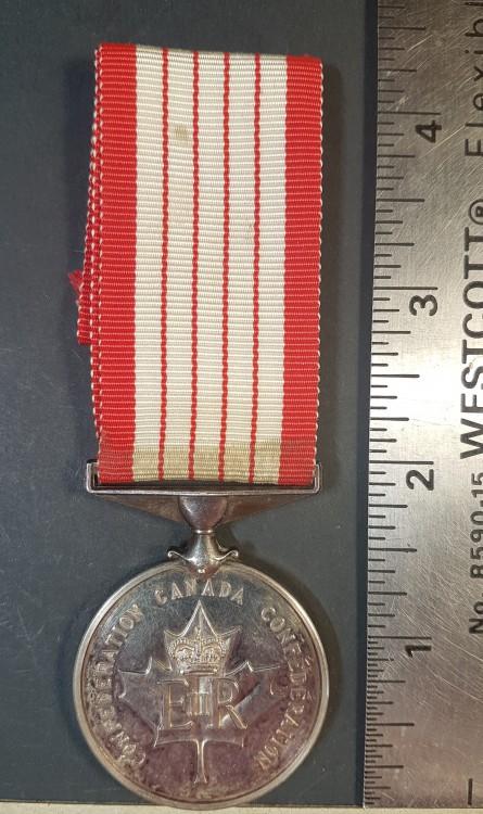 #269 #189 Canada. Centennial Medal 1867-1967