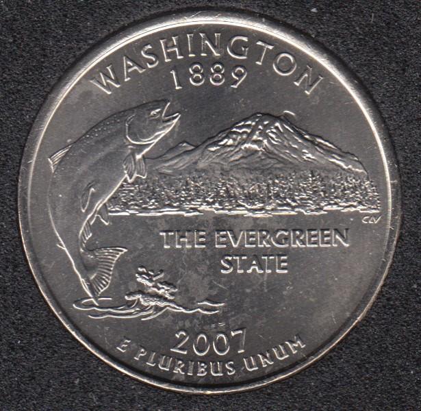 2007 P - Washington - 25 Cents