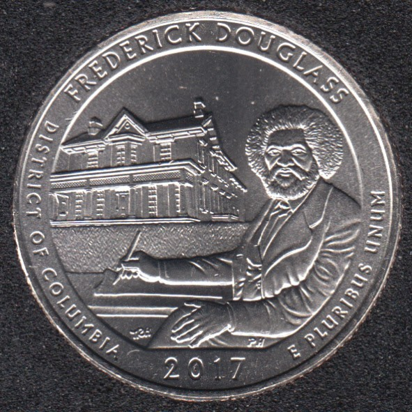 2017 D - Frederick Douglass - 25 Cents