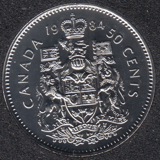 1984 - NBU - Canada 50 Cents