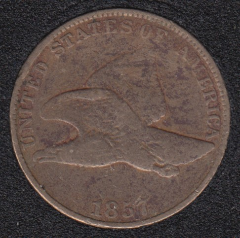 1857 - Flying Eagle Small Cent