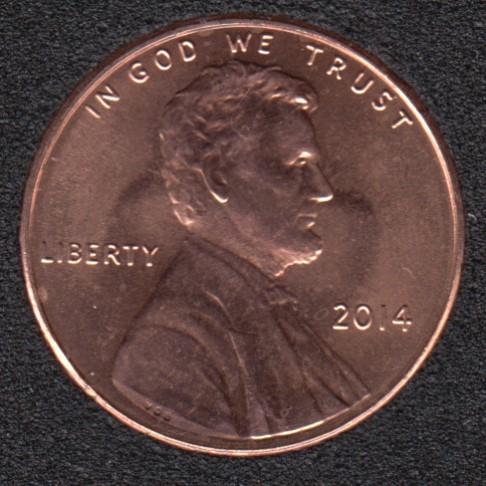 2014 - B.Unc - Lincoln Small Cent