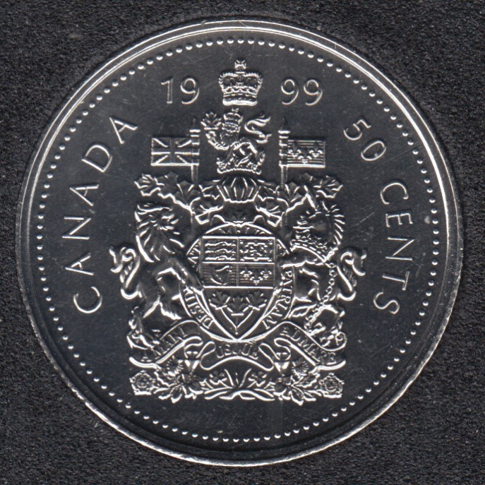 1999 - NBU - Canada 50 Cents