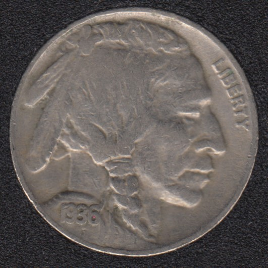 1936 - Indian Head - 5 Cents