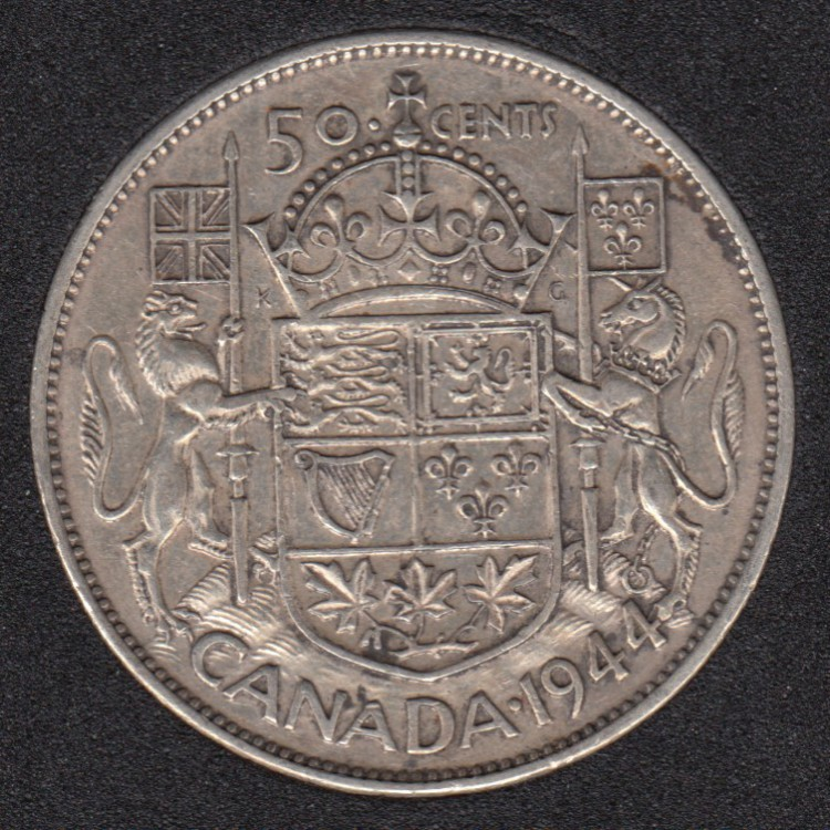 1944 - Canada 50 Cents