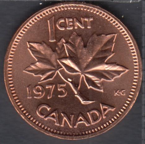 1975 - Gem B.Unc - Canada Cent