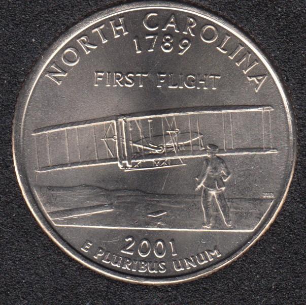 2001 D - North Carolina - 25 Cents