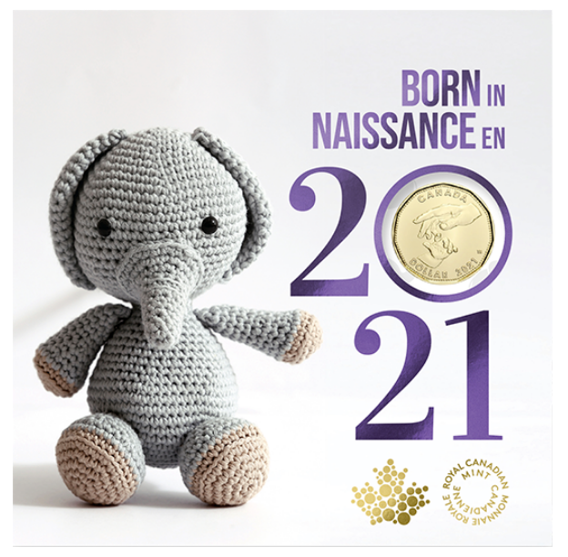 2021 - Baby 5-Coin Gift Card Set