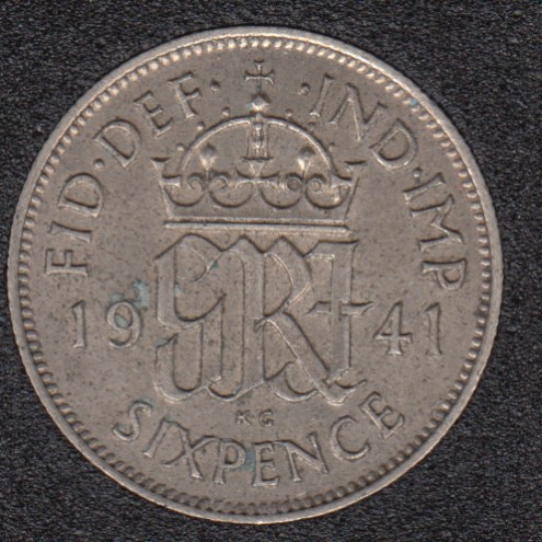 1941 - 6 Pence - Grande Bretagne
