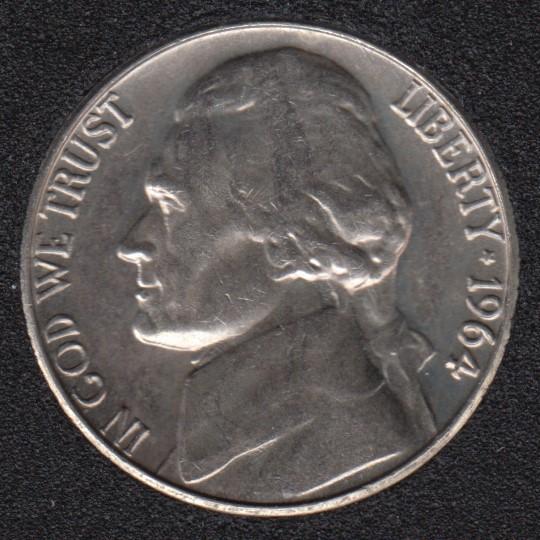 1964 D - Jefferson - B.Unc - 5 Cents