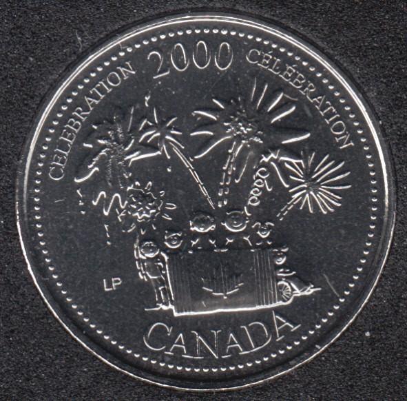 2000 - #7 NBU - Célébration - Canada 25 Cents