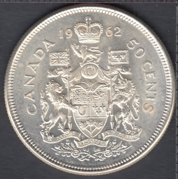 1962 - Canada 50 Cents