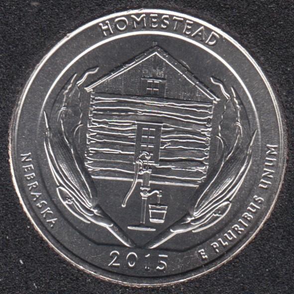 2015 D - Homestead - 25 Cents