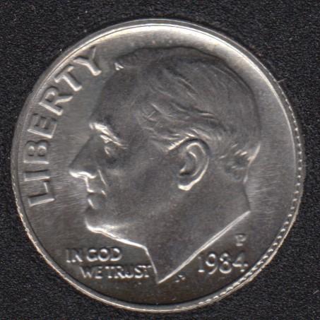 1984 P - Roosevelt - B.Unc - 10 Cents