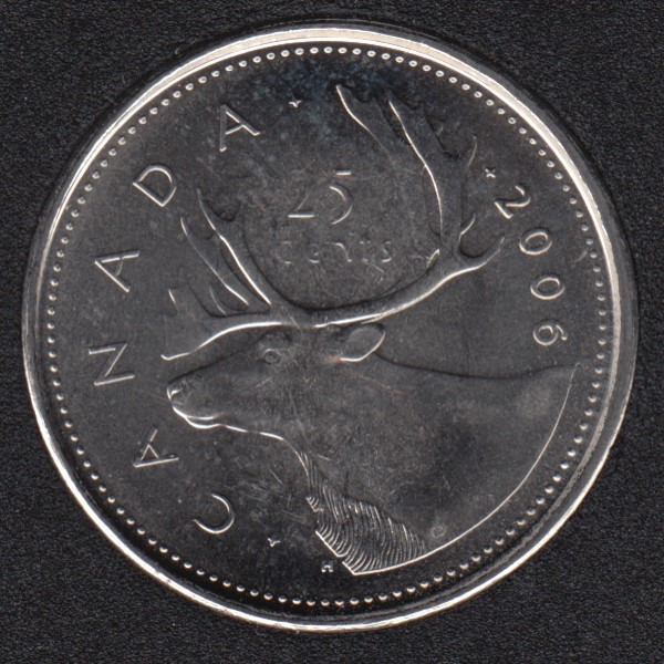2006 P - B.Unc - Canada 25 Cents