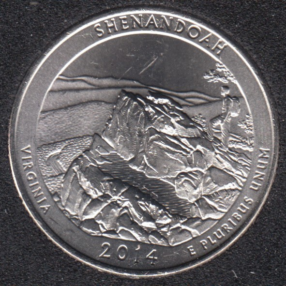 2014 D - Shenandoah - 25 Cents