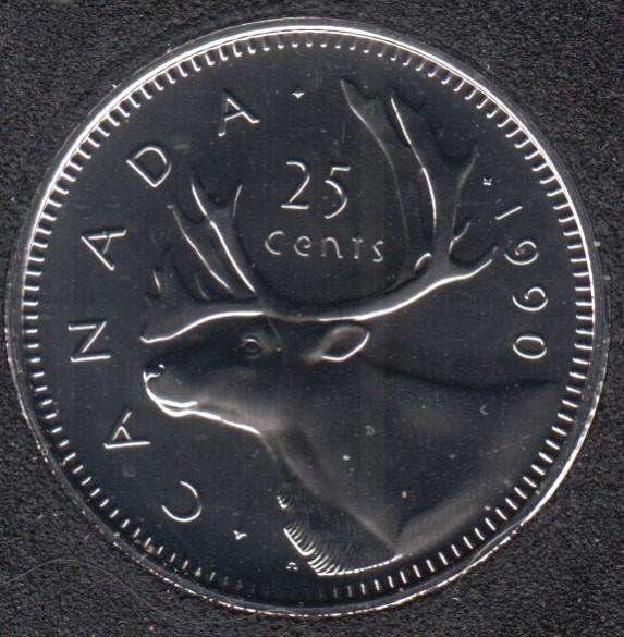 1990 - NBU - Canada 25 Cents