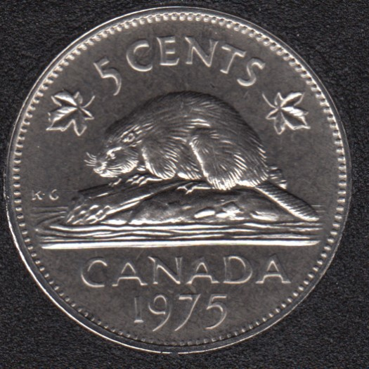 1975 - Proof Like - Canada 5 Cents