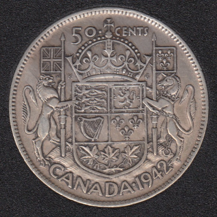 1942 - Canada 50 Cents