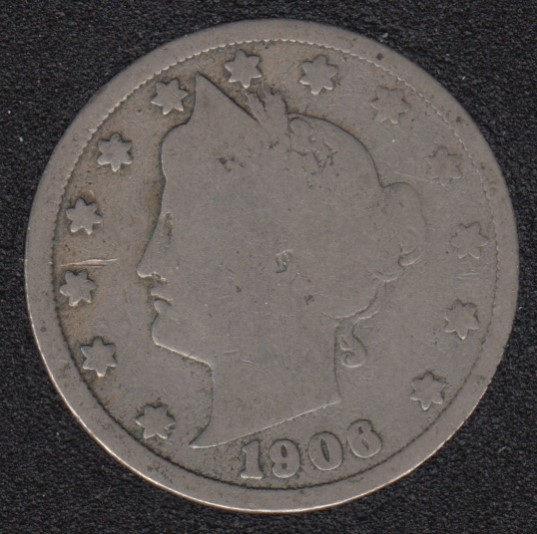 1906 - Liberty Head - 5 Cents