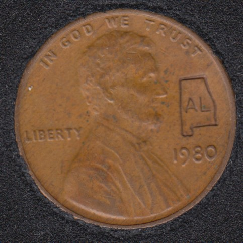 1980 - Alabama - Lincoln Small Cent