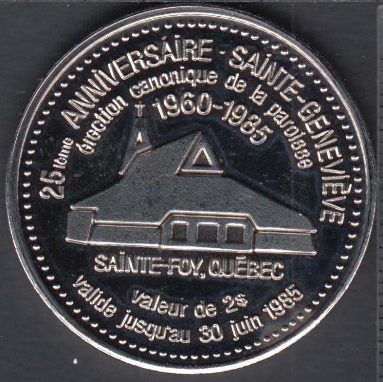 Sainte-Geneviève (Ste-Foy) - 1985 - Groupe Scout - Guide - $2 Dollar de Commerce