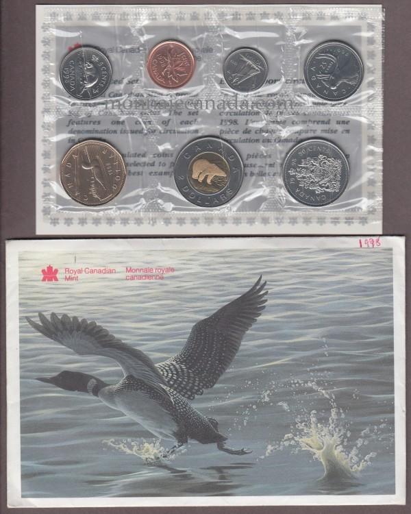 1998 - Uncirculated Proof set ottawa mint