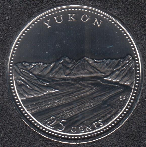 1992 - #5 NBU - Yukon - Canada 25 Cents