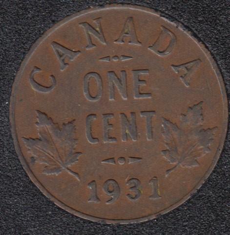 1931 - Canada Cent