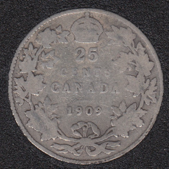 1909 - Canada 25 Cents