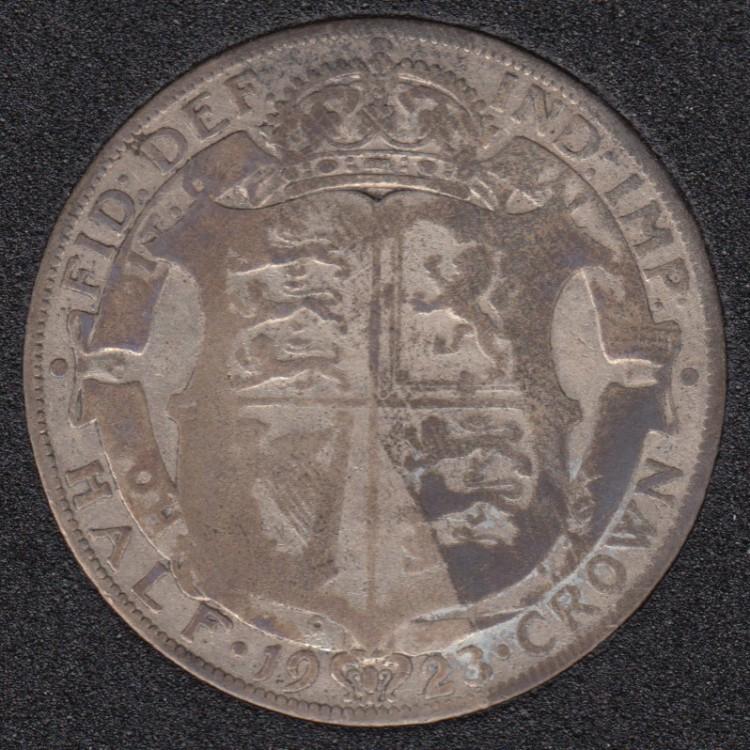 1923 - Half Crown - Great Britain
