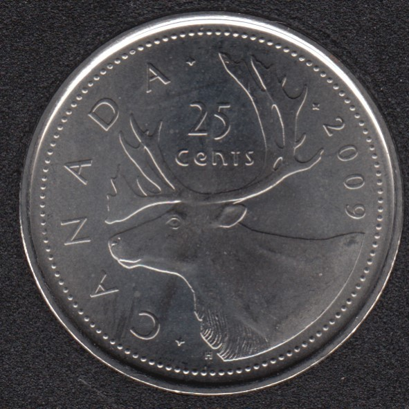 2009 - B.Unc - Canada 25 Cents