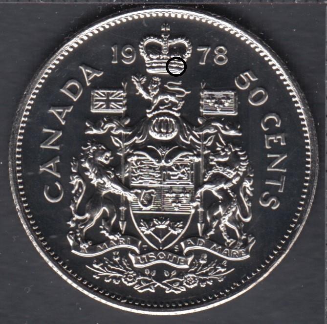 1978 - NBU - Round Jewels - Canada 50 Cents