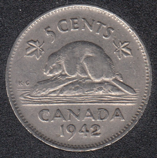 1942 - Canada 5 Cents