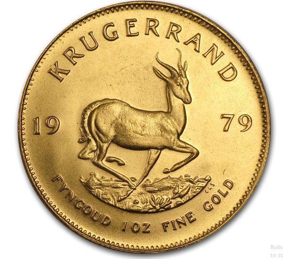 1979 1 oz South Africa - Krugerrand Fine Gold