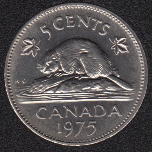 1975 - B.Unc - Canada 5 Cents