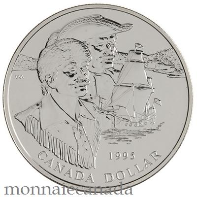 1995 Silver Dollar Brilliant Uncirculated
