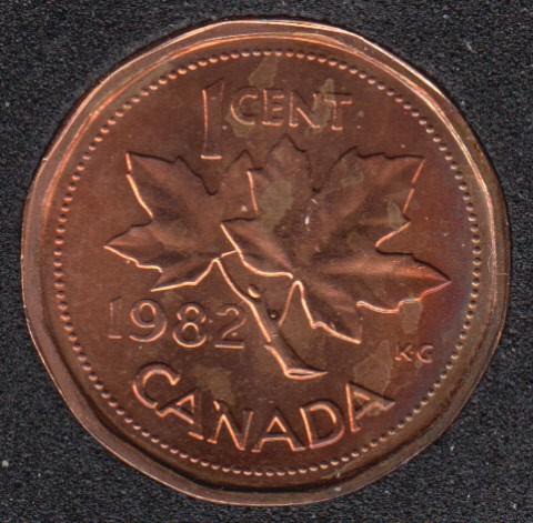 1982 - B.Unc - Canada Cent
