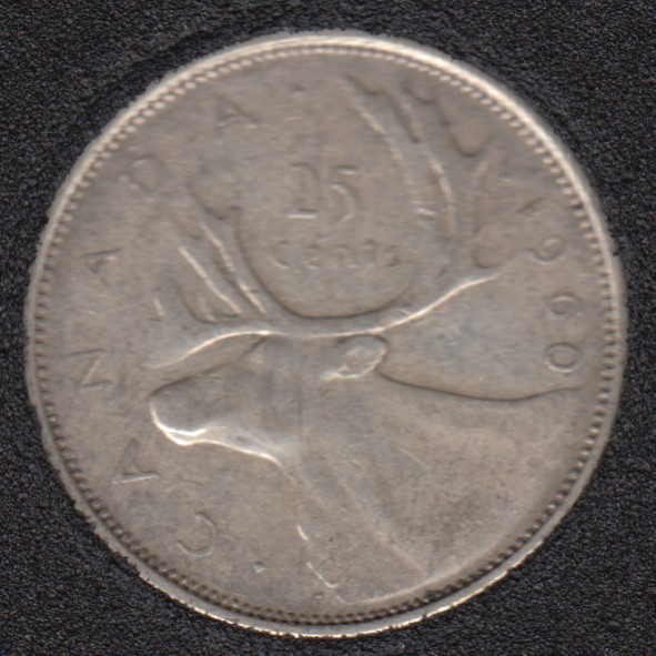 1960 - Canada 25 Cents