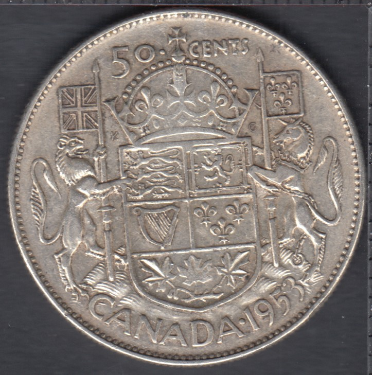 1953 - SD NSF - Canada 50 Cents