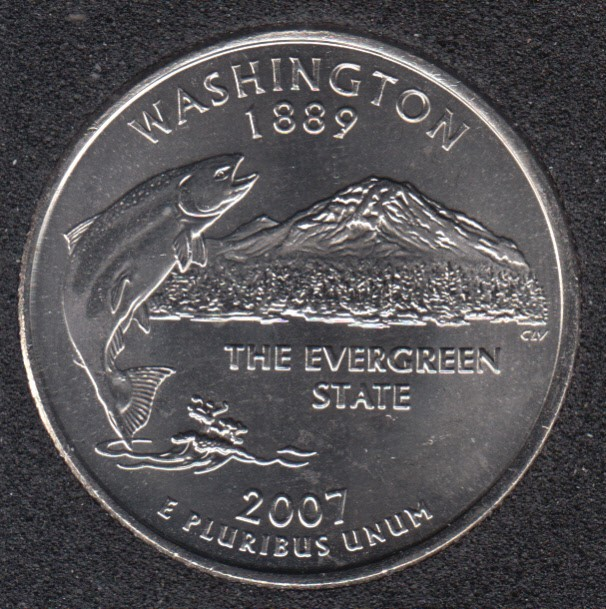 2007 D - Washington - 25 Cents