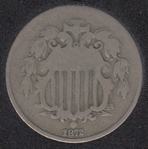 1872 - Shield - 5 Cents