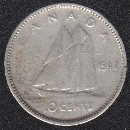 1947 - Canada 10 Cents