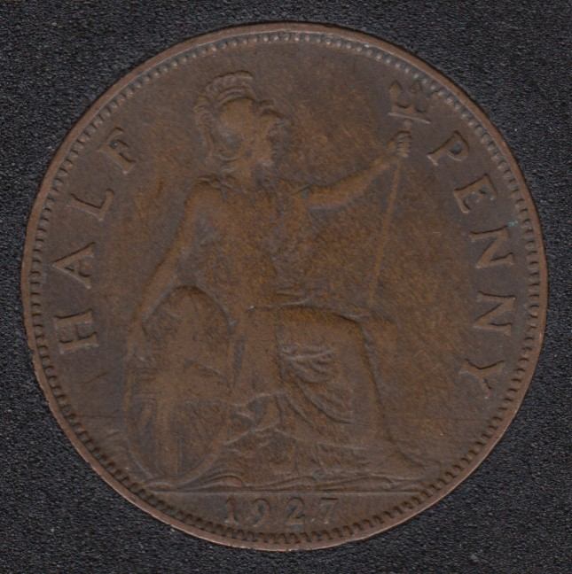 1927 - Half Penny - Great Britain