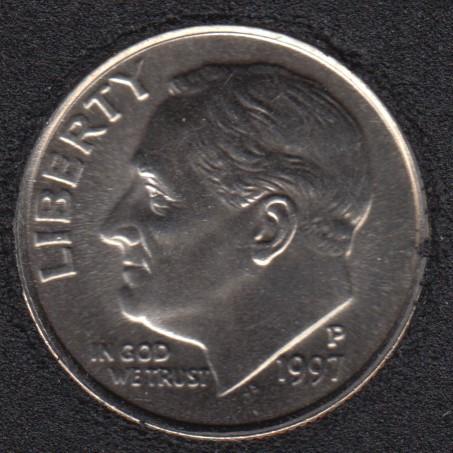 1997 P - Roosevelt - B.Unc - 10 Cents