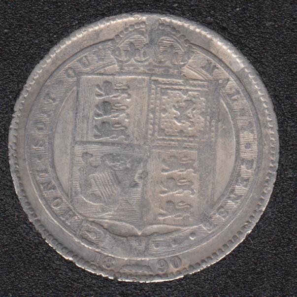 1890 - Shilling - Grande Bretagne