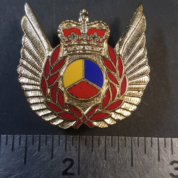 #23 RCAF Royal Canadian Air Force Flight Crew Tactical Helicopter Observer badge